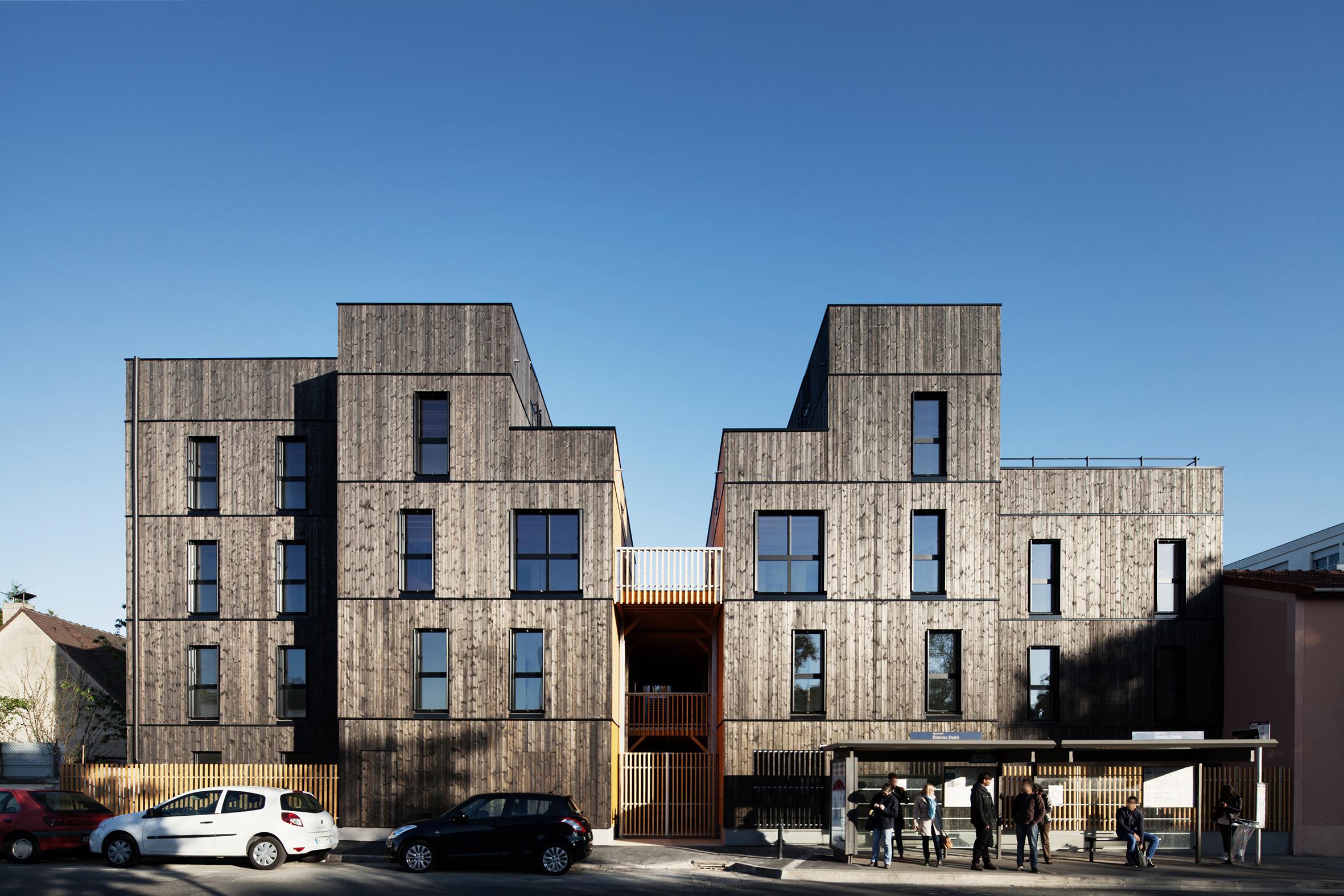 Logements r 2 rue etienne dolet montreuil 93 cbs cbt for R architecture tours