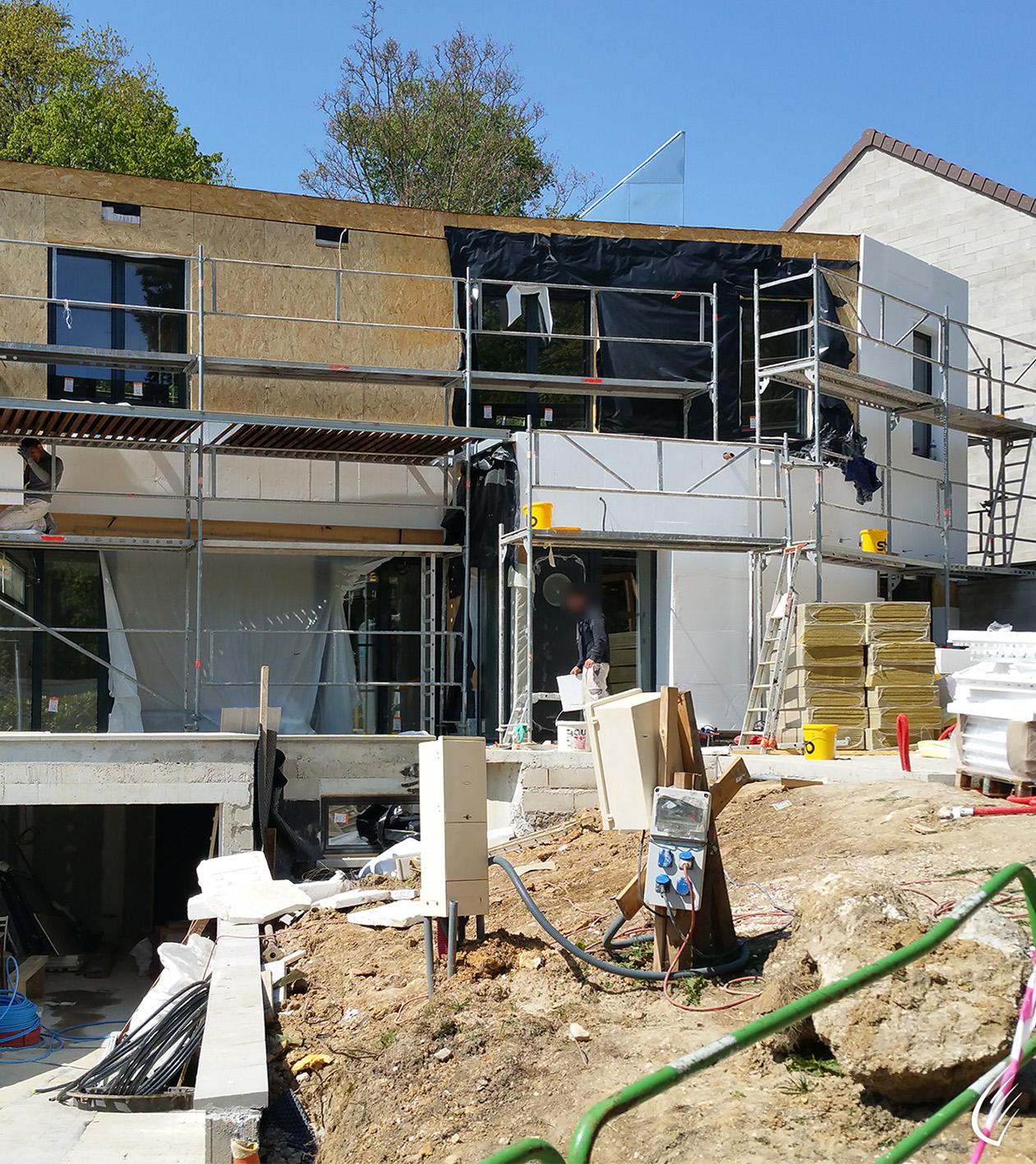 Maison individuelle l 39 etang la ville 78 cbs cbt for Construction individuelle