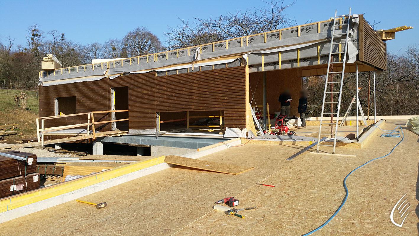 Maison individuelle mareil marly 78 cbs cbt for Construction terrain