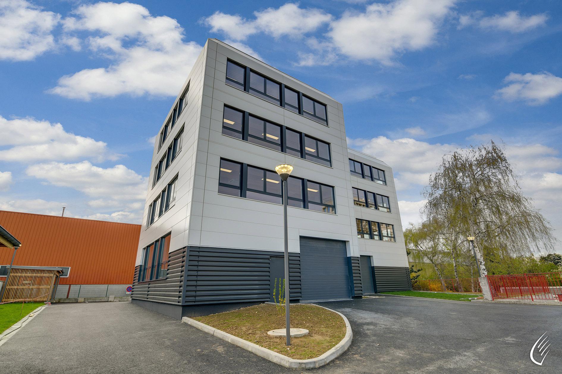 Immeuble de bureaux nanterre 92 :: cbs cbt