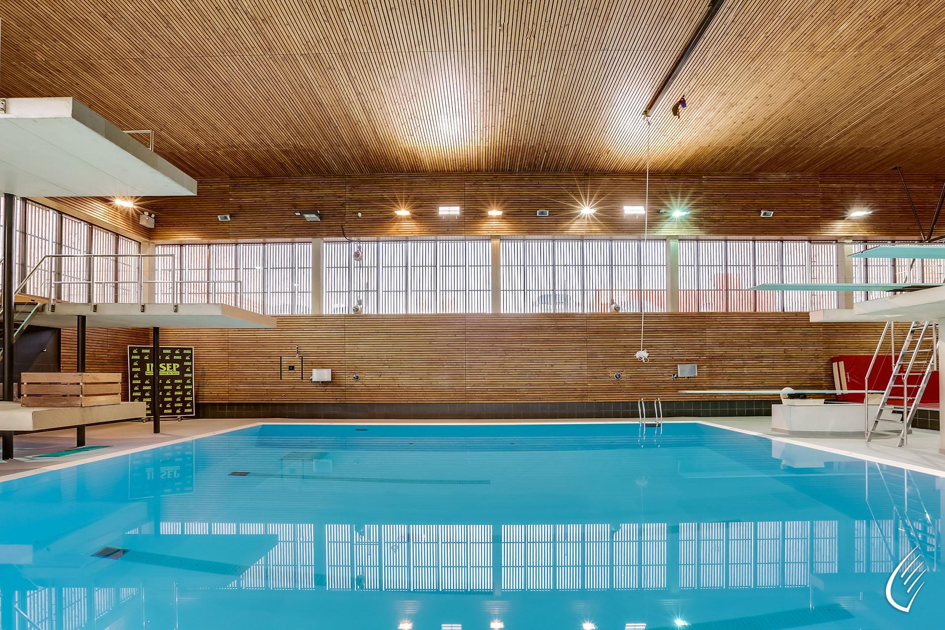 Constructeur De Piscine Paris stade aquatique insep, paris :: concepteur-constructeur bois